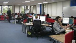 Serco Care Coordination Centre in Ipswich