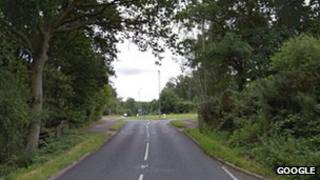 Kennels Lane near Farnborough