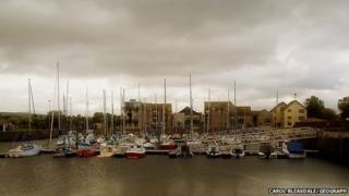 Nairn harbour