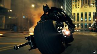 Undated file image released by Warner Bros shows a scene from The Dark Knight from 2008