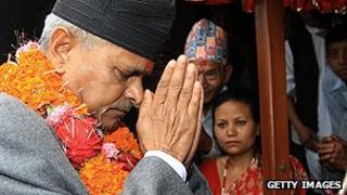 Nepali President Baran Yadav