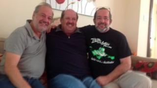 Bruce, Kevin and Rex Wilton