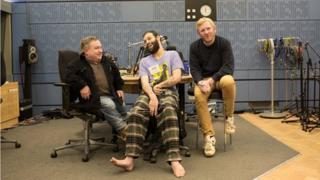 Simon Minty, Tim Renkow and Rob Crossan