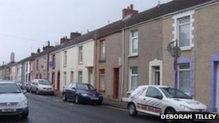 Western Street in Sandfields is on of the streets that could be upgraded