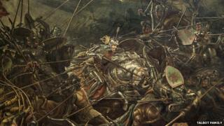 'The Battle of Bosworth Field', oil on canvas, 1839