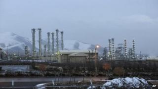Iran's heavy water plant at Arak, file pic