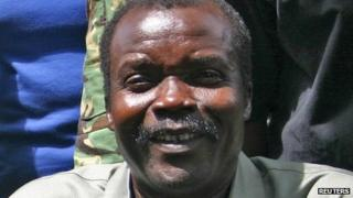 File picture of Joseph Kony from 2008