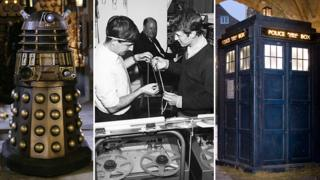 Dalek, Brian Hodgson and Tardis