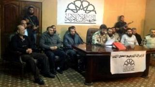 Announcement of the creation of the Islamic Front by seven Syrian rebel groups (22 November 2013)