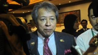 File photo: Malaysian Foreign Minister Anifah Aman