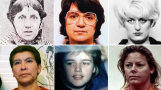 Composite of female serial killers