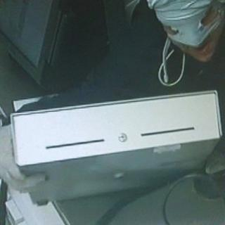 CCTV of incident
