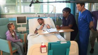 A scene from Holby City