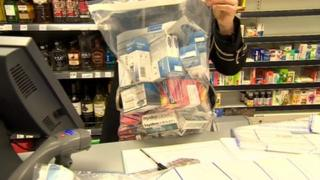 Illegal prescription medicines