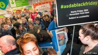 Asda shoppers