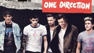 One Direction on album cover