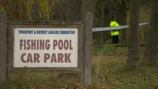 Bramhall fishing pool