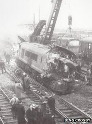 Stanton Gate railway crash