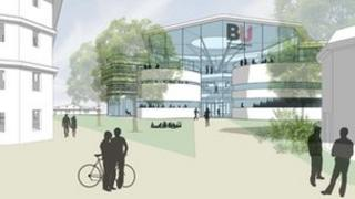 Proposed Bournemouth University building