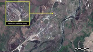 Satellite image courtesy Amnesty International of Kwanliso 16
