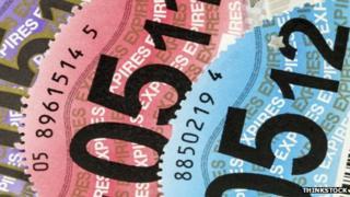Tax discs