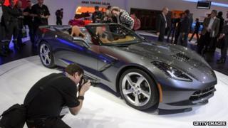 Corvette Stingray Cabriolet at Geneva Motor Show
