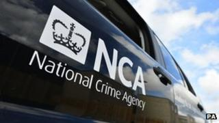 National Crime Agency vehicle