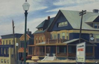 East Wind Over Weehawken by Edward Hopper