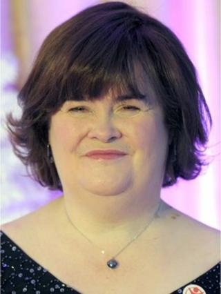 Susan Boyle said she was relieved to have been diagnosed