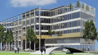 Office block proposed in Northampton
