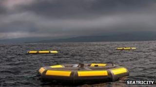 Aluminium floats