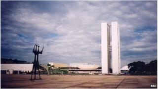 Brazil's capital, Brasilia
