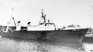 Gaul fishing vessel