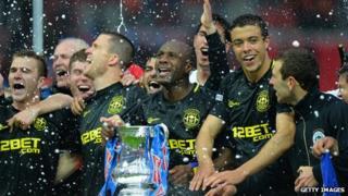 Wigan win the English FA Cup final