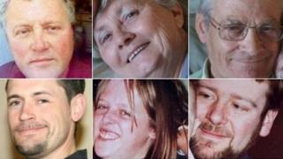 M5 crash victims