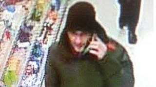 CCTV of wanted man