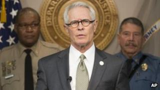 US Attorney Barry Grissom