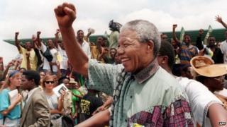 Nelson Mandela (January 1994)