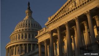 The US Capitol in Washington, DC, on 14 November 2013