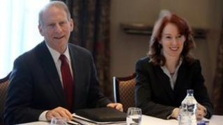 Dr Richard Haass and Meghan O'Sullivan