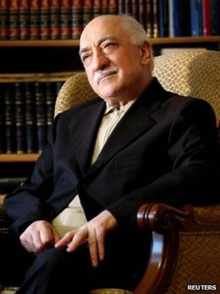 Fethullah Gulen at his residence in Saylorsburg, Pennsylvania, December 2004