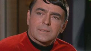 James Doohan in Star Trek