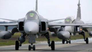 Saab JAS 39 Gripen jet