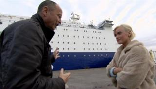 Jeni Anderson talks to Chris Jackson about her fall from a North Sea ferry