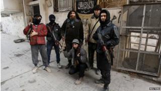 Members of al-Nusra (file photo)