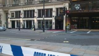 Shaftesbury Avenue has been closed while police investigate the fatal shooting at London's Avalon Club