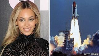 Beyonce and Challenger