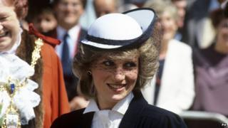 Diana in a Frederick Fox hat
