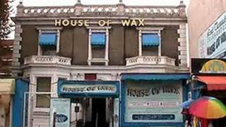 External view of the House of Wax in Great Yarmouth