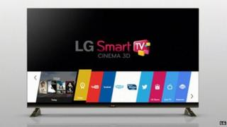 Smart TV with webOS